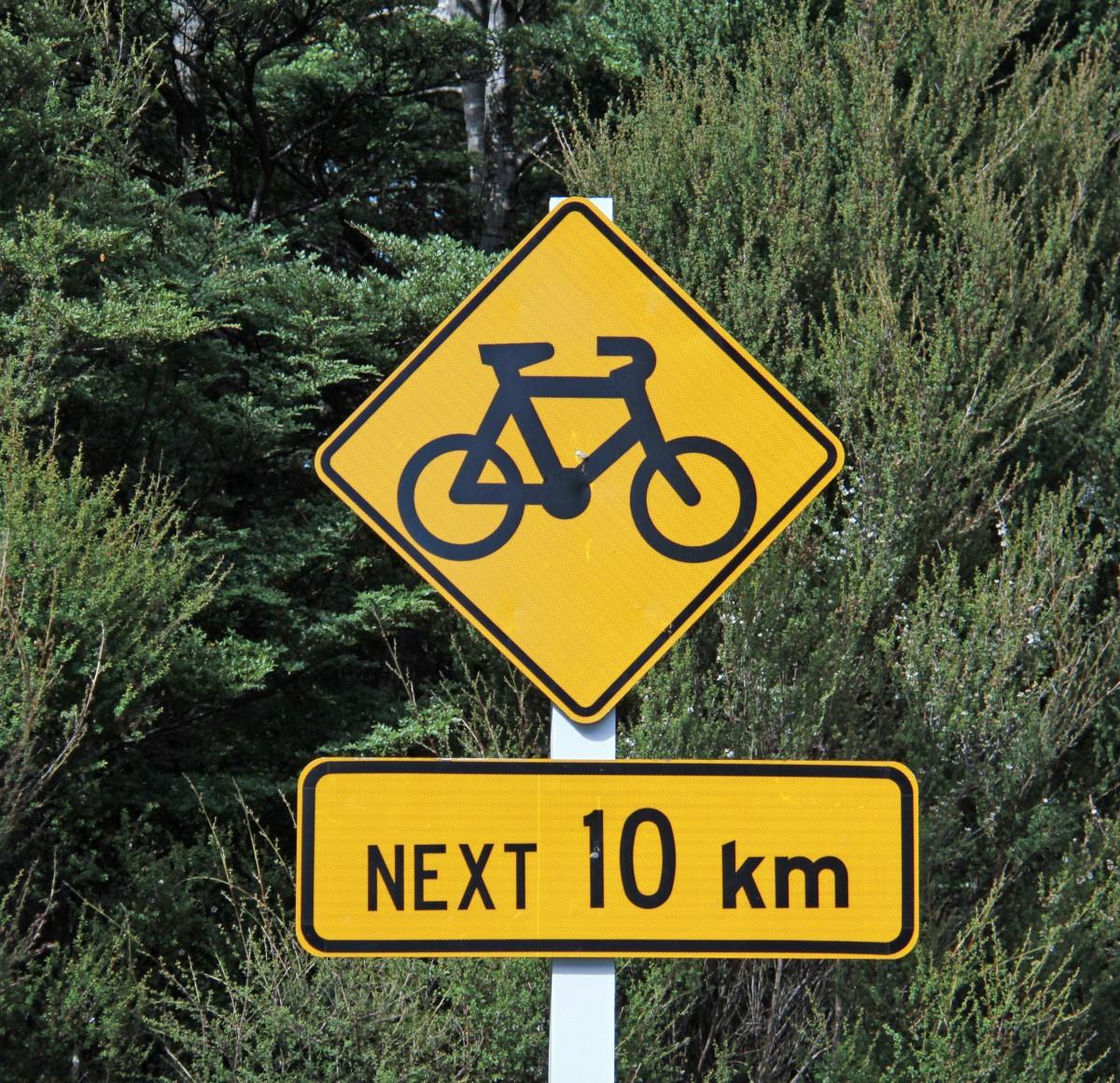 Biking all the way from Turoa ski field to Whanganui