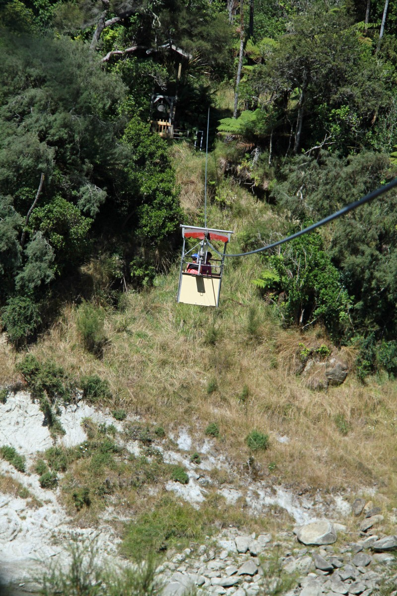 Flying Fox over to the Flying Fox Accommodation