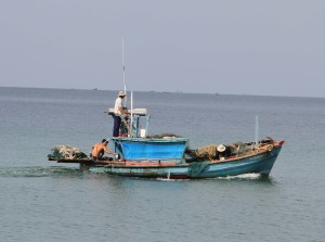 Fishing off Phou Quoc