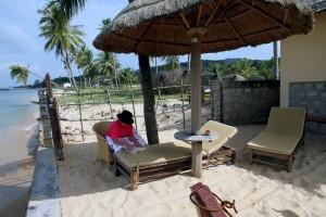 Luxury beside the beach