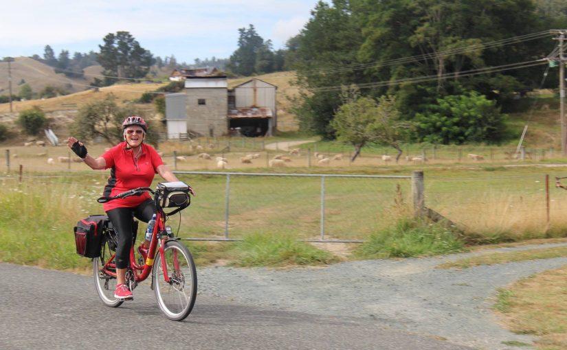 The Great Tasman Taste BIKE trail on my e-bike! 185 kms