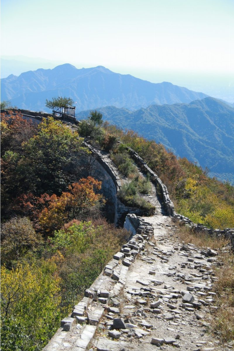Great wall of China Trek from Jiankou to Mutianyu