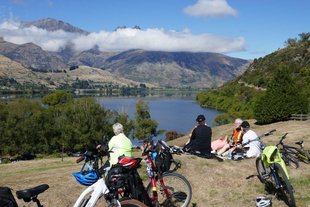 Biking in and around Queenstown New Zealand