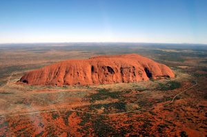 Uluru - View from above